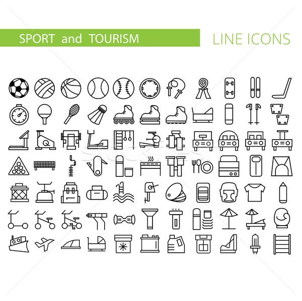 スポーツ コレクション シンボル ストックフォト © Natali_Brill