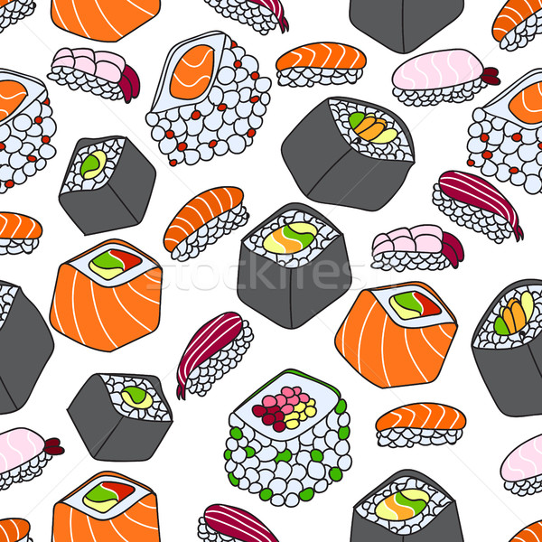Sushis texture design feuille peinture Photo stock © Natali_Brill
