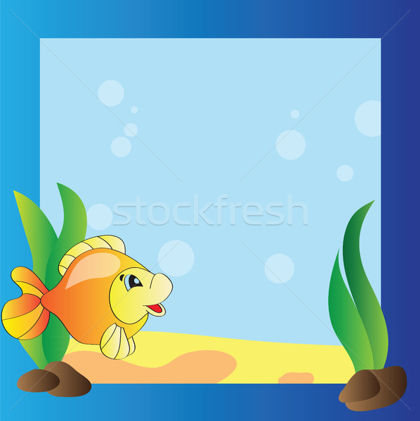 Frame - marine life Stock photo © Natali_Brill