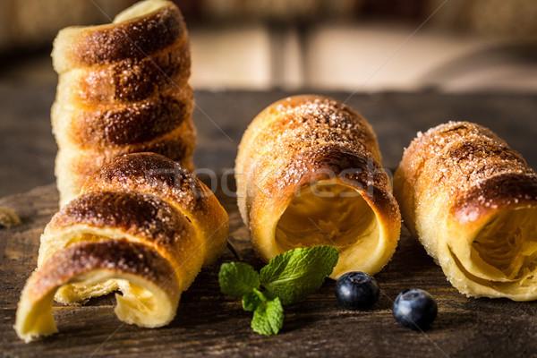 Ungherese tradizionale pagnotta dessert cotto Foto d'archivio © Natalya_Maiorova