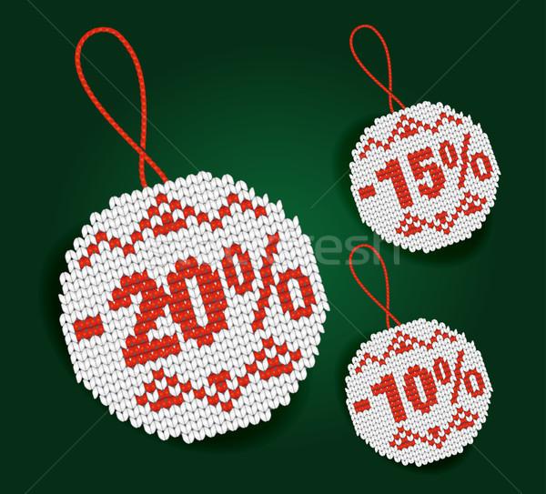 продажи процент цен изолированный знак Сток-фото © Natashasha