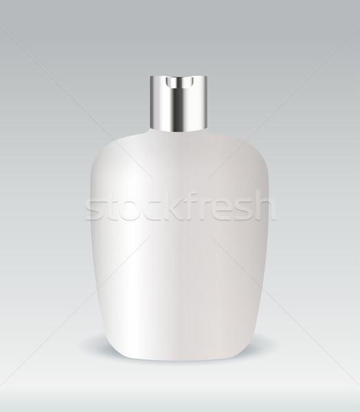 化粧品 コンテナ ボトル 孤立した 顔 ボディ ストックフォト © Natashasha