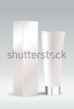 Cosmetic tube package for cream or gel Stock photo © Natashasha