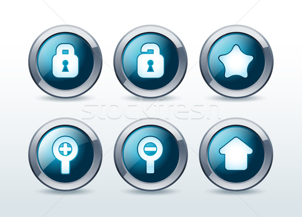 Webボタン 孤立した ビジネス コンピュータ ストックフォト © Natashasha