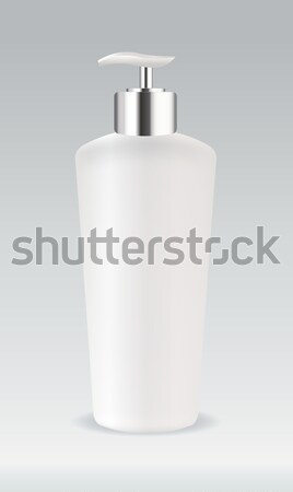 Cosmetic container bottle for soap or gel Stock photo © Natashasha