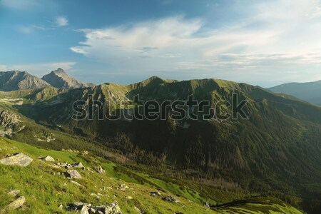 Tatra Mountains at dusk Stock photo © nature78