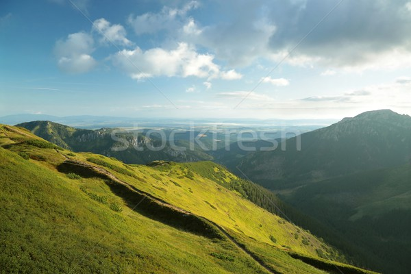 Polish Tatra mountains at dawn Stock photo © nature78