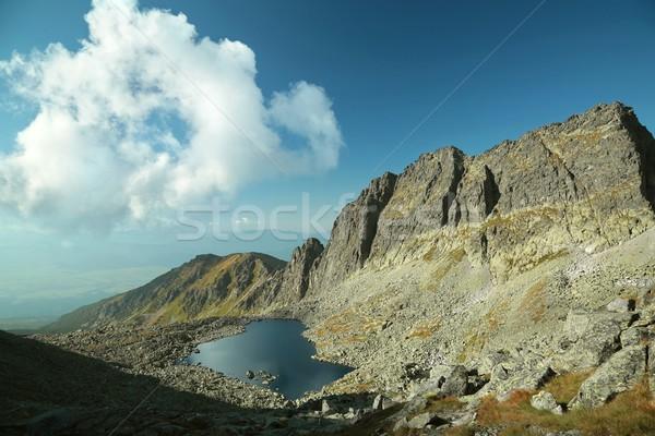 Vallée parc élevé eau paysage été Photo stock © nature78
