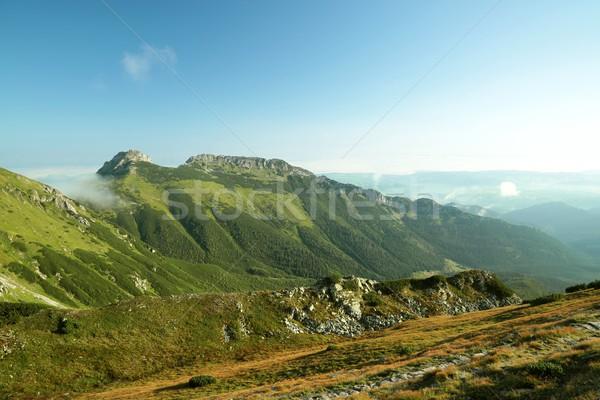 Giewont in Polish Tatra Mountains Stock photo © nature78