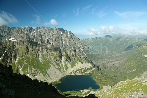 View from the top in Tatras Stock photo © nature78