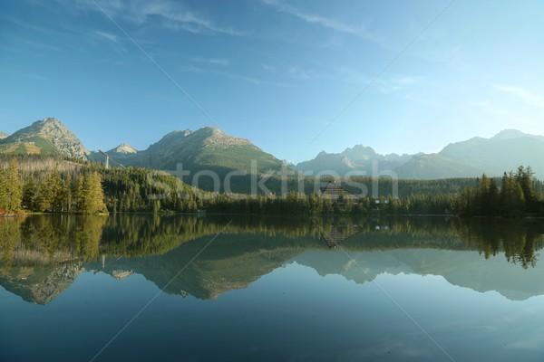 Lake Slovakian Tatras Stock photo © nature78