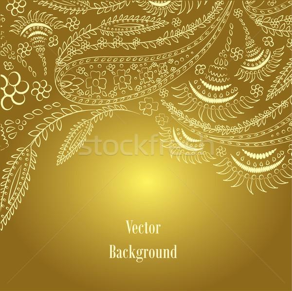 手描き 飾り 花 ファッション デザイン 背景 ストックフォト © naum