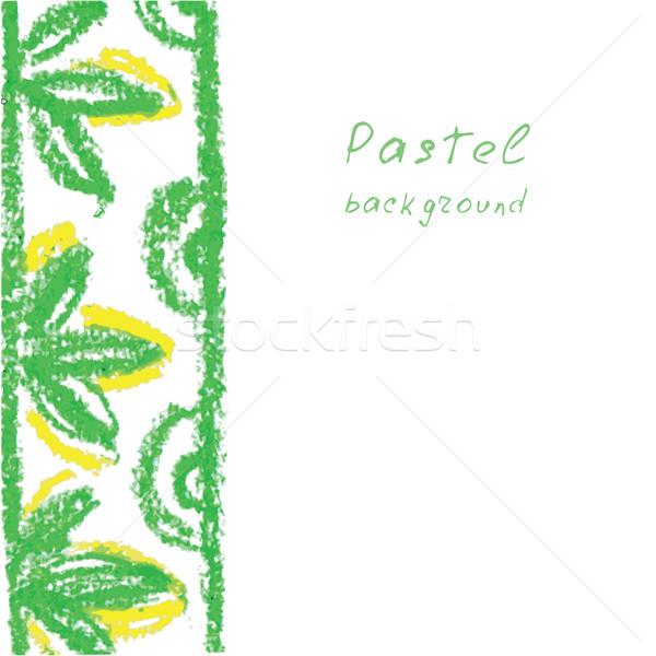Kézzel készített rajz pasztell textúra terv festék Stock fotó © naum