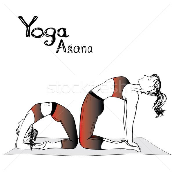 商业照片: 女孩 · 女子 · 瑜伽 · 工作 · 运动 · 放松图片
