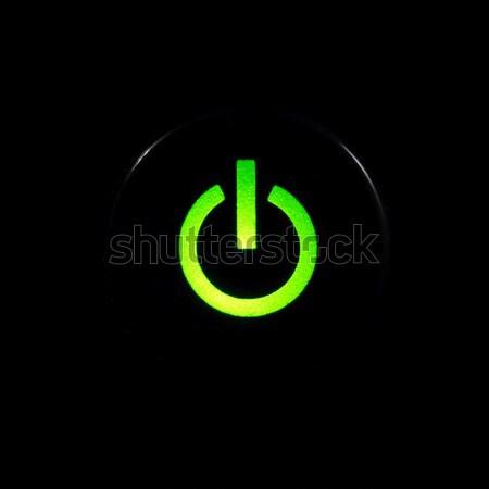 Power button Stock photo © naumoid