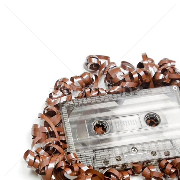 Audio cassette background Stock photo © naumoid