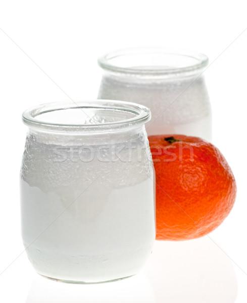 Yogurt Stock photo © naumoid