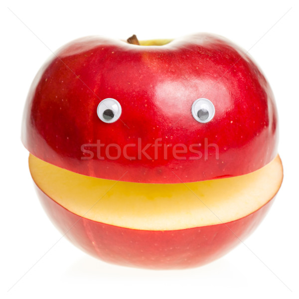 Red Apple Character Stock photo © naumoid