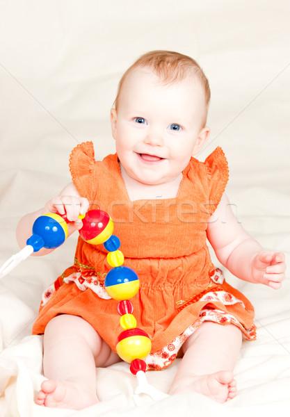 греметь мало играет девушки Сток-фото © naumoid