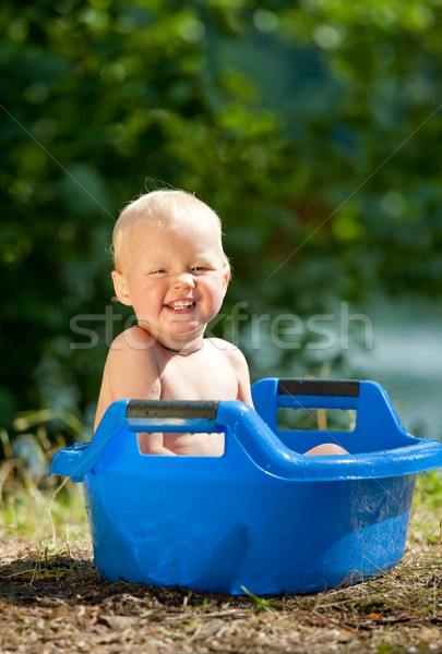 Alfresco bathing  Stock photo © naumoid