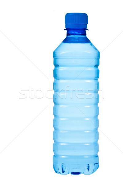 Woda butelkowana domowych butelki woda pitna odizolowany biały Zdjęcia stock © naumoid