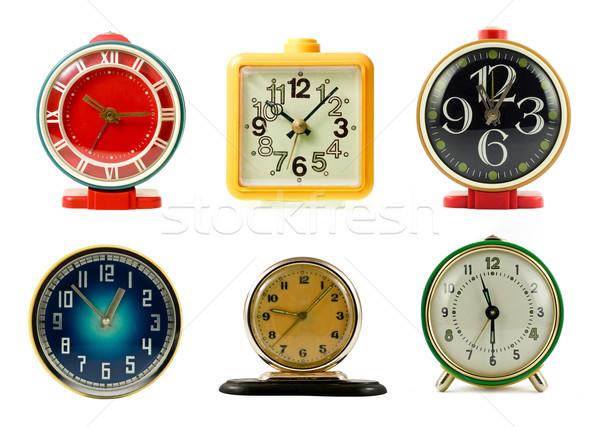 Clocks collection Stock photo © naumoid