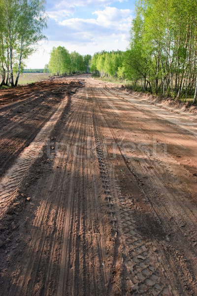 Dirt road Stock photo © naumoid