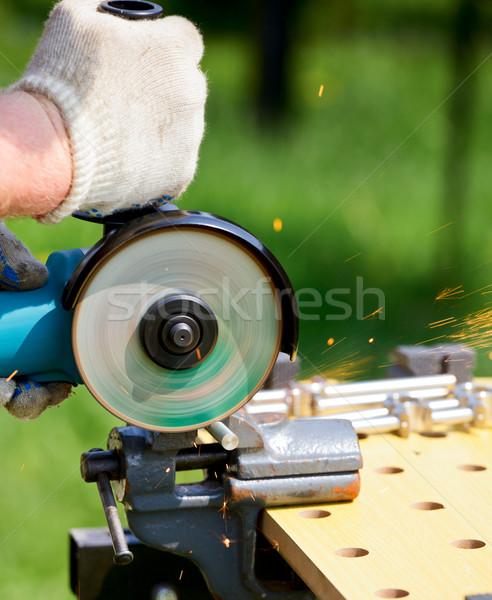 Disc grinder Stock photo © naumoid