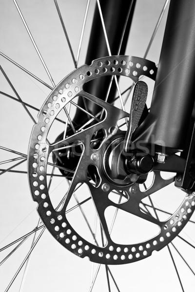 Bicycle disk brake Stock photo © naumoid