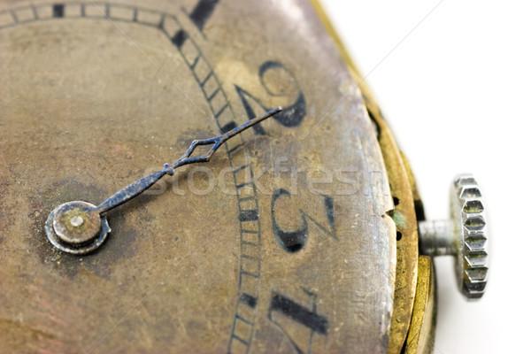 Antique wristwatch  Stock photo © naumoid