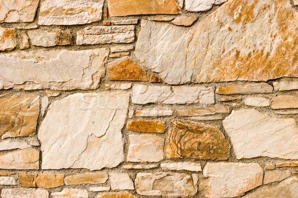 Muro de piedra patrón piedra azulejo pared textura Foto stock © naumoid