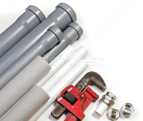 Plumbing supplies Stock photo © naumoid