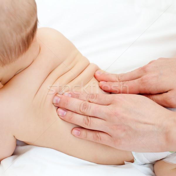 ребенка массаж массажистка мало Сток-фото © naumoid