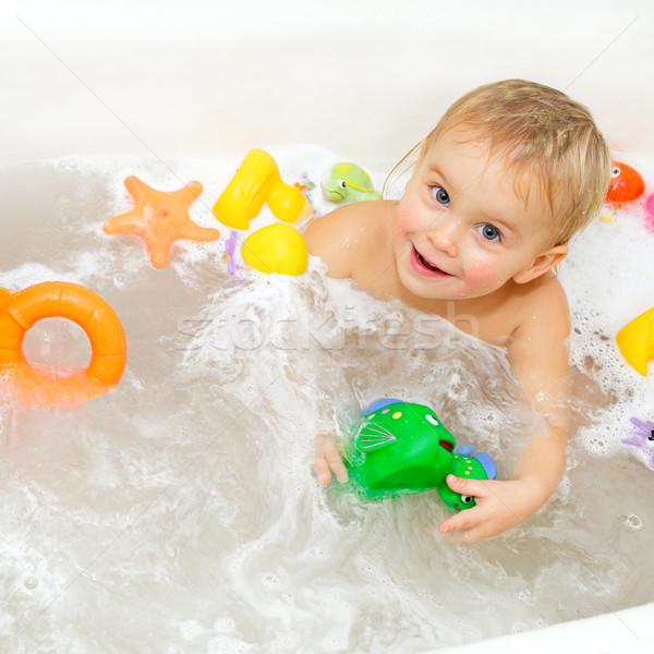 Bathing Baby  Stock photo © naumoid