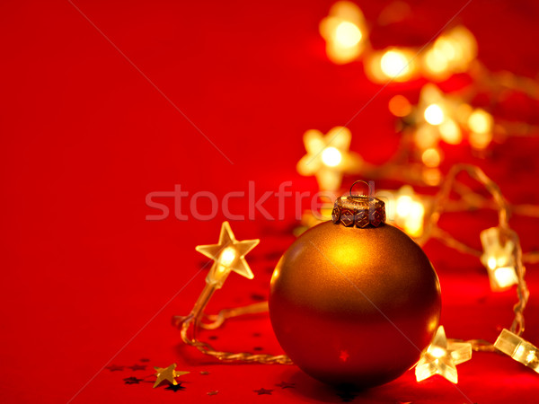 Christmas decoration Stock photo © naumoid