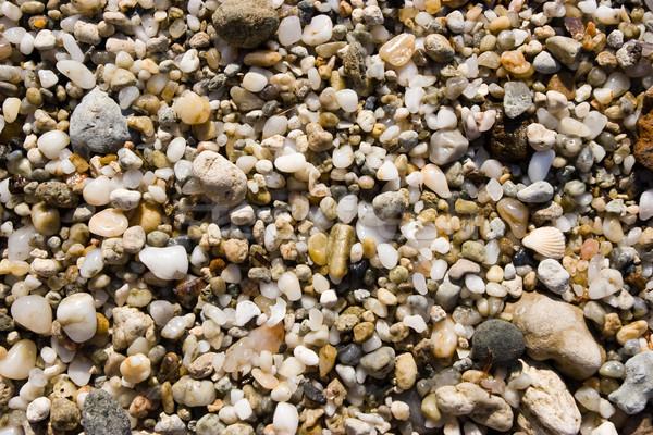 Pebbles background Stock photo © naumoid