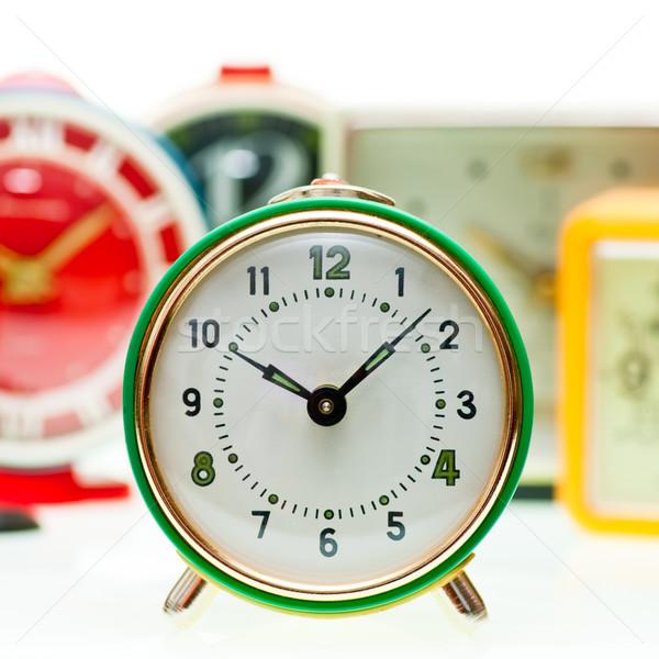 Alarm clock set Stock photo © naumoid