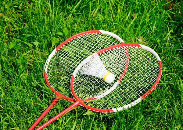 Badminton Stock photo © naumoid