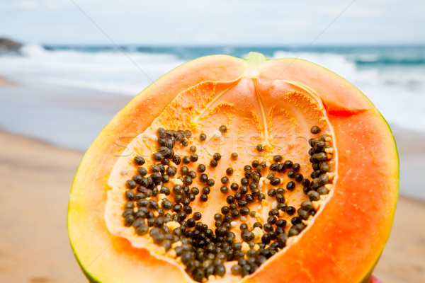 Papaya Stock photo © naumoid