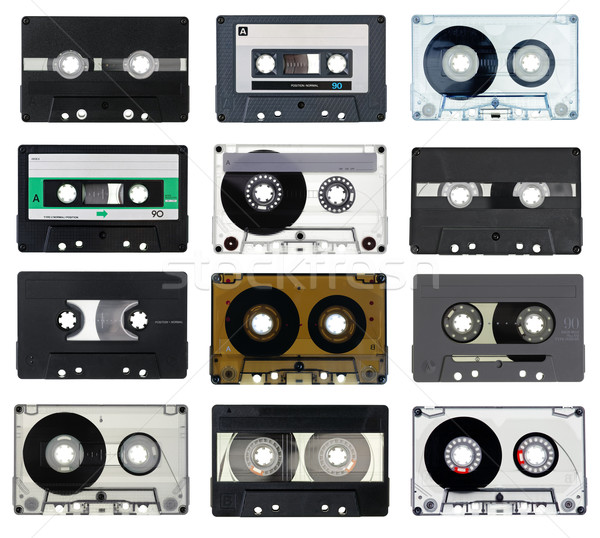 Compact Cassettes Stock photo © naumoid