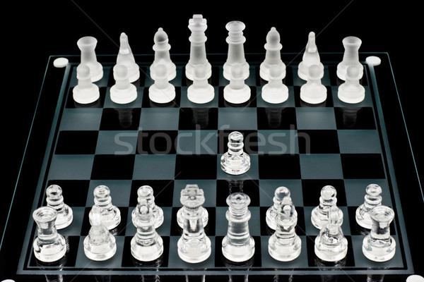The first move Stock photo © naumoid