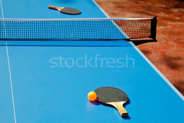 Table tennis Stock photo © naumoid
