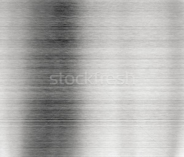 Metall glänzend Platte Oberfläche Hintergrund Industrie Stock foto © naumoid