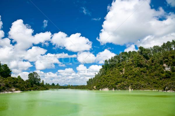 Lake Ngakoro Stock photo © naumoid