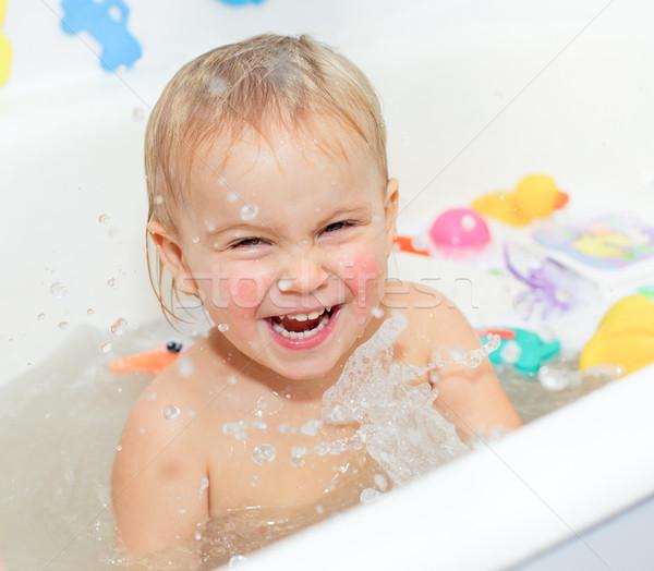 Bathing Baby  Stock photo © naumoid