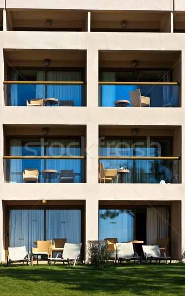 Hotel facade Stock photo © naumoid