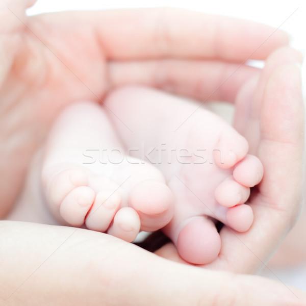 Tiny feet Stock photo © naumoid