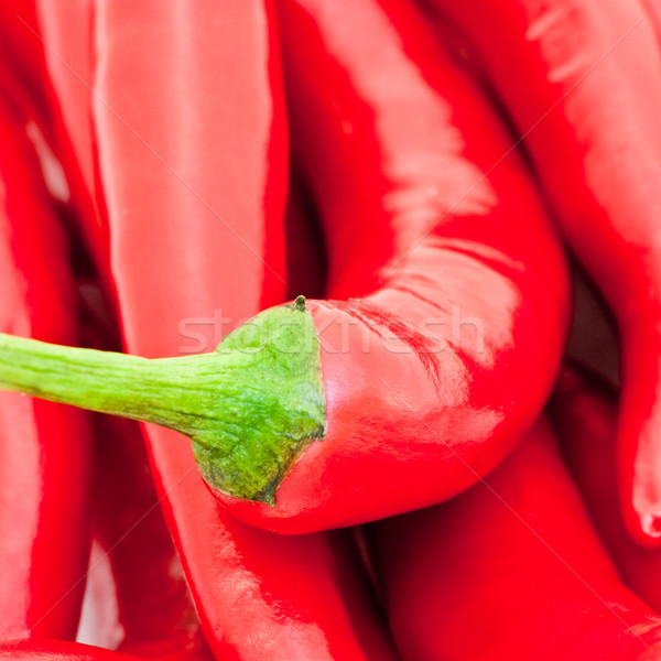 Piment rouge chaud alimentaire Photo stock © naumoid