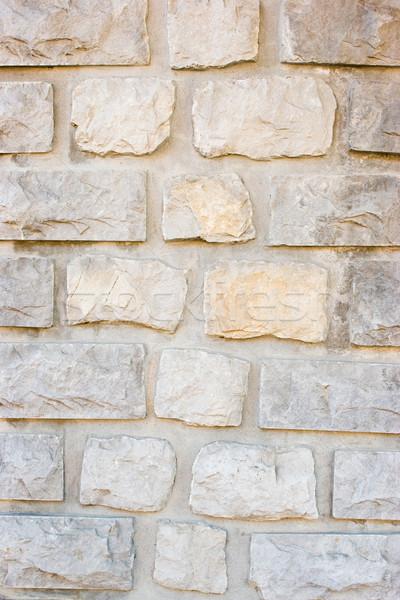 Stonewall padrão pedra telha parede textura Foto stock © naumoid