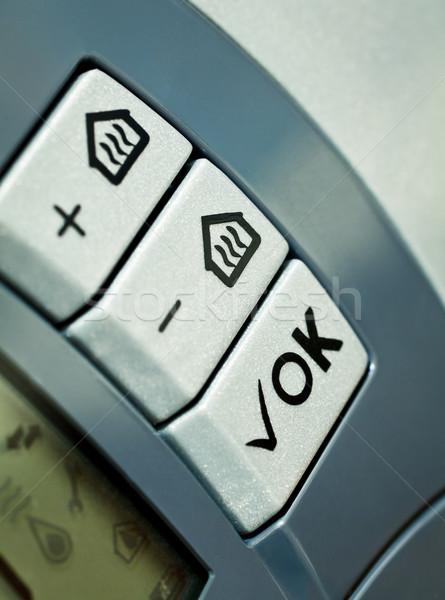 Thermostat controls  Stock photo © naumoid